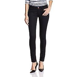 Jealous 21 Women's Skinny Jeans (JY2011_Black_26)