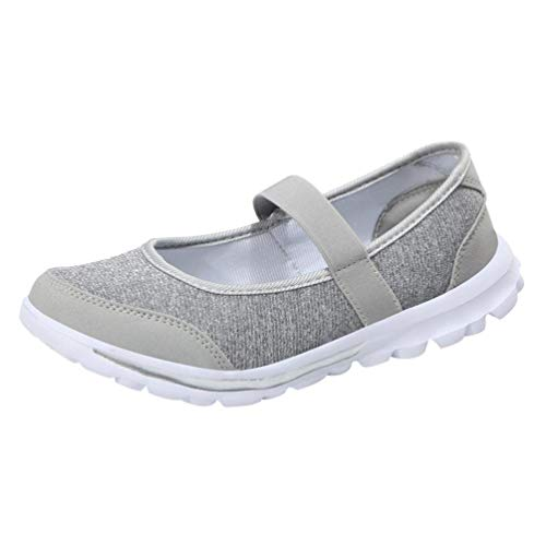 ❤️ Gemütlich Atmungsaktive Schuhe, Amlaiworld Damen Casual Flach Ballerinas Sommer Elegant Segelschuhe Outdoor Frauen Freizeit Espadrilles Stilvoll Urlaub Sneaker Laufschuhe