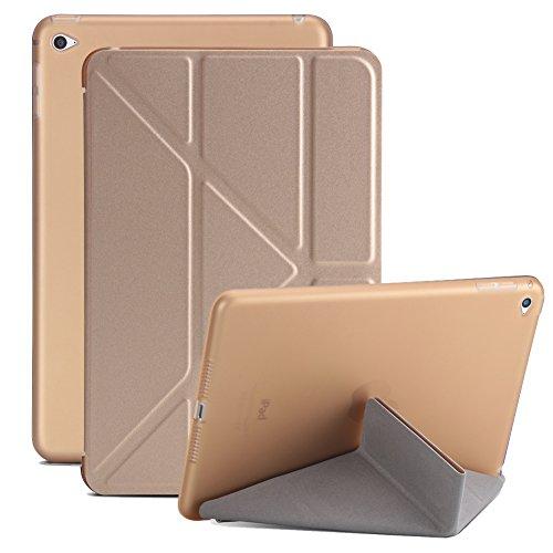 dac9770e2f SOUNDMAE iPad Mini 1/2/3 Case, Premium PU Leather Lightweight Slim Origami