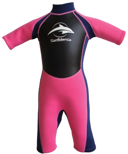 Konfidence Shorty Swimsuit- Pink