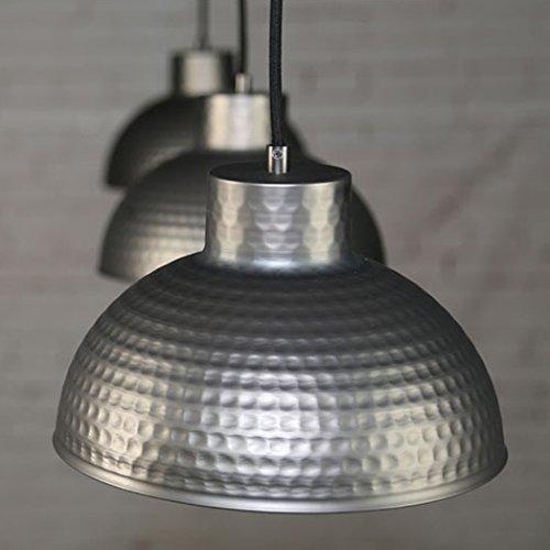 BAYCHEER Modern Hängelampe LED Lampe Aluminium Lampenschirm ø 26cm Retro Fabriklampe - 4