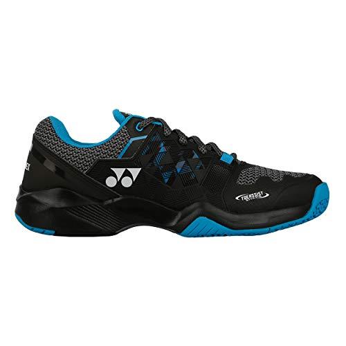 YONEX Men Sonicage Clay Tennis Shoes Clay Court Shoe Black - Blue 8