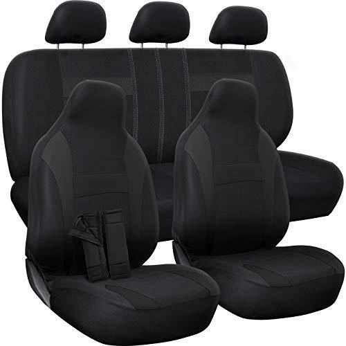 OxGord SCNO16-ED-BK Sitzbezug, schwarz, Stück: