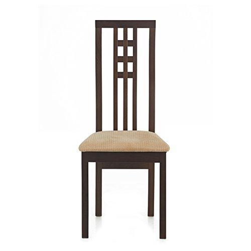@home by Nilkamal FIDCBRUNIWCCSBCH Dining Chair (Beige)