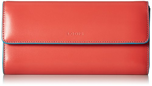 lodis-womens-audrey-chckbkcltchwlt-cts-checkbook-cover-coral-turquoise-one-size