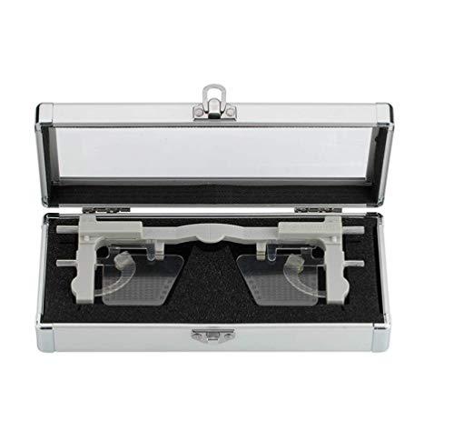 HYCy Einstellbare Pupilometer PD & PH Entfernung zwischen den Pupillen Höhenmesser Brille Lineal Optisches Werkzeug Ophthalmic Eyesight