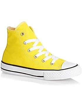CONVERSE niño / o altas zapatillas de deporte 355738C CTAS HI AMARILLO