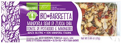 Probios bio barretta mandorla semi di zucca chia - confezione 24 barrette da 25 gr