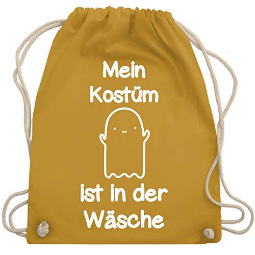 Halloween - Mein Kostüm ist in der Wäsche Gespenst - Unisize - Senfgelb - WM110 - Turnbeutel & Gym Bag