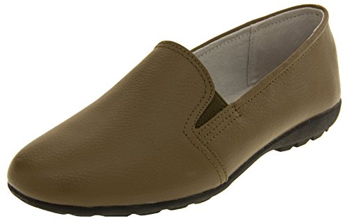 Coolers Bout Mocassins Femmes Taupe