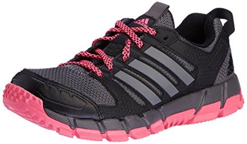 adidas Damen Vanaka 2 Tr Woman Sneakers, Schwarz/Fuchsia, 38 EU -