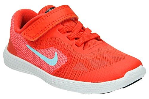 Nike Nike Revolution 3 (Tdv) - max orange/still blue-lava glo, Größe #:4C (Nike Schuhe Für Baby-mädchen-größe 4)