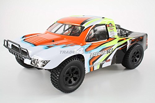 HSP Breaker SCT Short Course Truck 1:10 RTR Orange 94205 Rc Short Course Truck Rtr