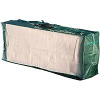 Royal Gardineer Kissenbox: Tasche aus Gewebeplane für Gartenmöbel-Sitzkissen, 130 x 50 x 32 cm (Kissentasche)