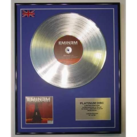 EMINEM/LTD Edicion CD platinum disc/THE EMINEM SHOW