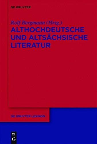 Althochdeutsche Literatur (de Gruyter Lexikon)