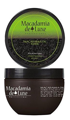 Macadamia DeLuxe Macadamiaöl Maske Kur, 250ml, Premium Haar Pflege