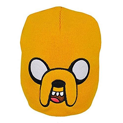 Adventure Time - Jake - Offiziell Junior Beanie (Hut, Kappe) - Gelb, One Size (Adventure Time Hüte)