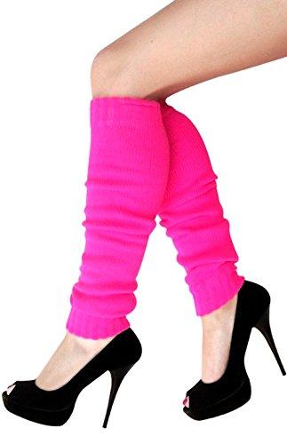krautwear® Damen Beinwärmer Stulpen Legwarmers Overknees gestrickte Strümpfe 80er Jahre 1980er Jahre (Stulpen Jahre 80er)