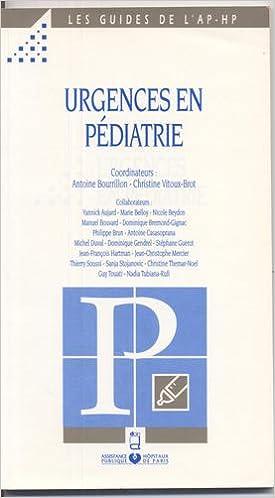 Téléchargement Urgences en pédiatrie pdf
