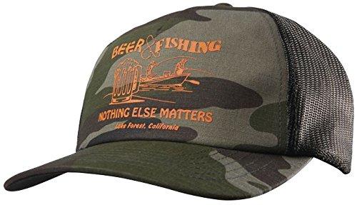 Etnies Trucker Cap Beer and Fishing Blau