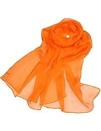 bello design varietà di stili del 2019 rivenditore all'ingrosso Amazon.it: foulard - Giallo / Sciarpe / Sciarpe e stole ...