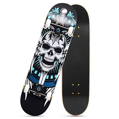 ZXCMNB Komplette Mini-Cruiser Skateboard 31 Zoll for Erwachsene Kinder Anfänger Mädchen Jungen Skateboards 31
