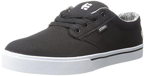 Etnies - Jameson 2 Eco Black White Print 507 Sneaker Herren Skate Schwarz Weiß Skateschuh Black/White/Print