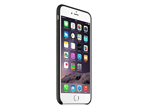 Apple MGQX2ZM/A Hülle  für IPhone 6 Plus / 6s Plus, schwarz schwarz