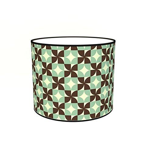 Abat-jours 7111301550200 Imprimé Covert Lampadaire, Tissus/PVC, Multicolore