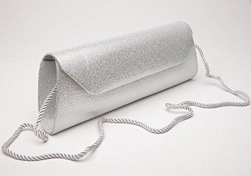 Josephine Osthoff Handtaschen-Manufaktur, Poschette giorno donna one size Argento (argento)