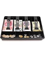 Hard Plastic case Cash Register Box New Classify Store Cashier Coin Drawer Box Cash Drawer Tray Money Counter case