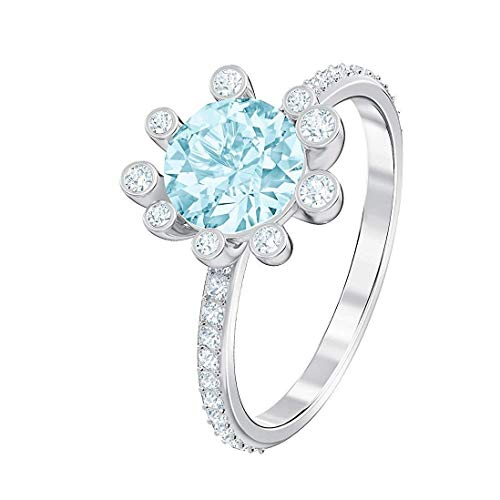 Swarovski Damen-Ringe Edelstahl Kristall \'- Ringgröße 58 5482502