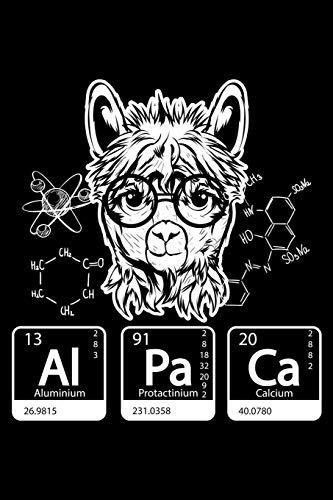 Al Pa Ca Aluminium Protactinium Calcium: 120 Page Lined Notebook - [6x9]