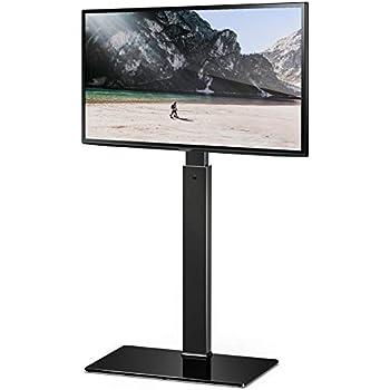 Fitueyes Meuble Tv Pied Support Pivotant Pour Téleviseur Ecran Lcd De 32 à 55 Pouce Led Plasma Tt106001mb