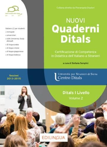 Nuovi quaderni Ditals. I livello: 2