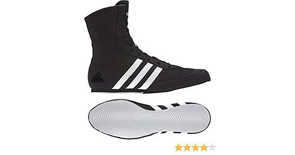 Adidas Box Hog, Chaussures de boxe pour homme Noir noir Noir noir, 40
