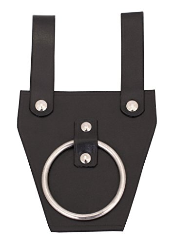 41Hxgaw8YsL - Black Leather Belt Holder for Axe–Axe Holder