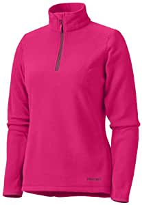 Marmot Women's Flashpoint Half Zip Fleece Pull-on - Bright Rose, X-Large
