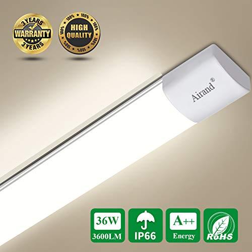Plafoniera da Officina, Airand 120CM 36W LED IP66...