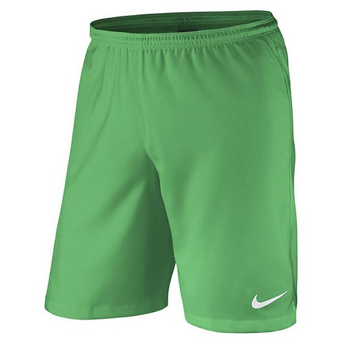 Nike–Pantaloncini da uomo Laser II Woven NB Hyper Verde/Bianco