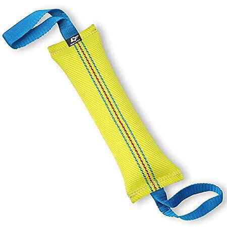 Bull Fit Beisswurst für Hunde, 30 cm, mit Zwei Schlaufen – Sehr Robustes Hundespielzeug zum K9 Training, Tauziehen und…