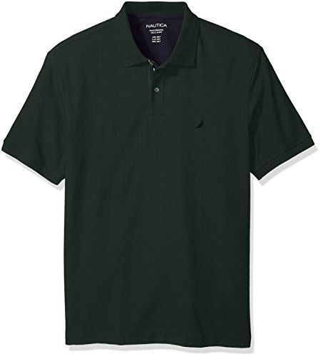 Nautica Men's Big and Tall Short Sleeve Solid Deck Polo Shirt (Poloshirt Herren Tall Big)