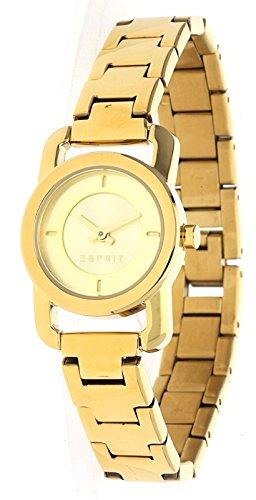 Esprit Women's 32mm Gold-Tone Steel Bracelet & Case Quartz Analog Watch ES107752006