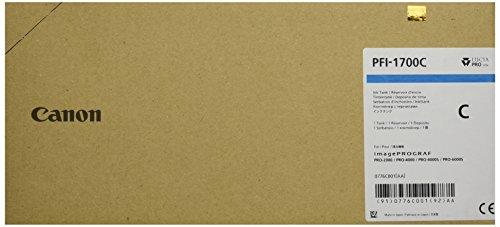Preisvergleich Produktbild CANON PFI-1700 Tinte cyan Standardkapazität 700ml 1er-Pack iPF Pro2000/4000/4000S/6000S