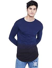 FUGAZEE Men's Full-Sleeves | Slim-Fit | Round-Neck | Cotton Thumbhole T-Shirt