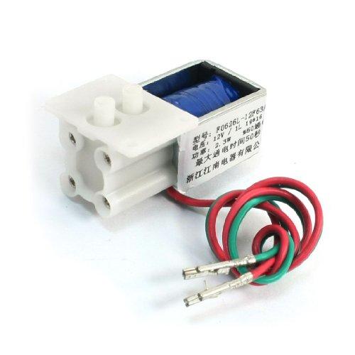 GAS Ventil SOLENOID Elektromagneten DC 12V 2.3W 1L 50% elektrisierte Rate
