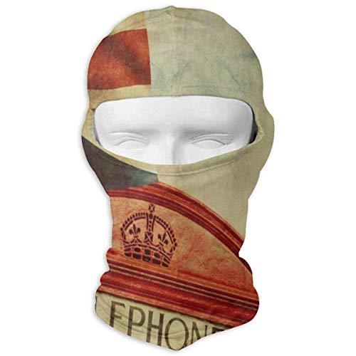 Hoklcvd Balaclava Vintage Clip Art Full Face Masks Motorcycle Neck Hood Design20 (Hut Clip Polizei)