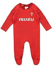 WRU Pijama Entera para Niños Bebés Wales