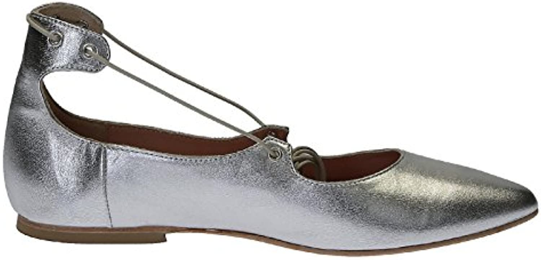 chaussures en cuir pour femmes de de de leonardo 11730cuoionappaargento Argent  apparteHommes ts b07bchc6lg pa ren t   La Qualité Des Produits  357c4a